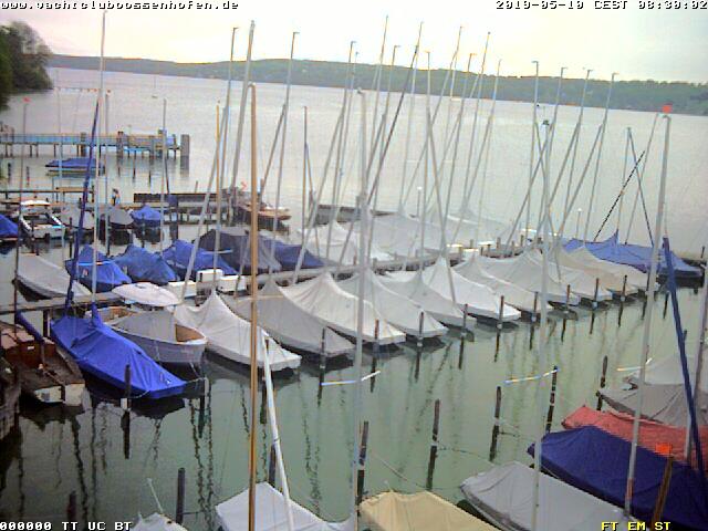 Yachtclub Possenhofen, Blick nach Osten
